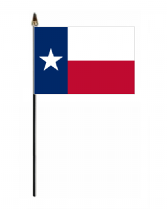 Texas Hand Flag - Small.